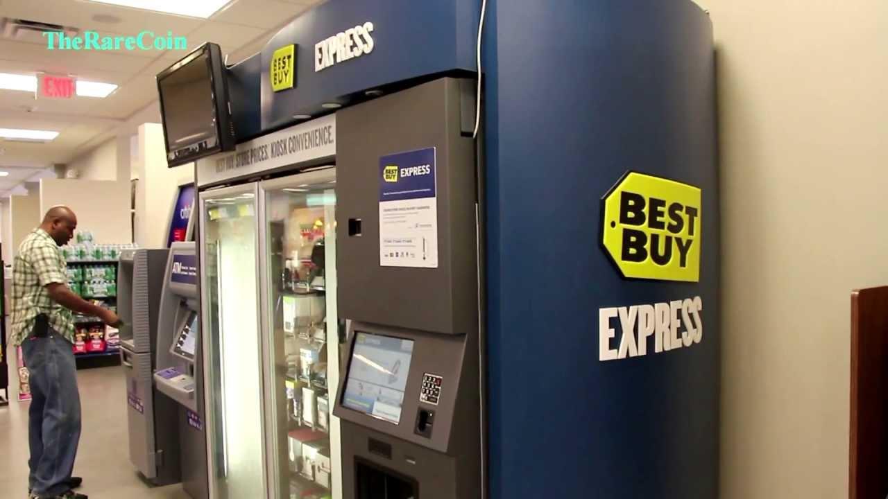 BestBuy Express Vending Machine 2013 - YouTube