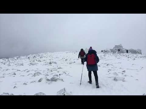 Ben Nevis summit via the Mountain Path. 11th Nov 2017.