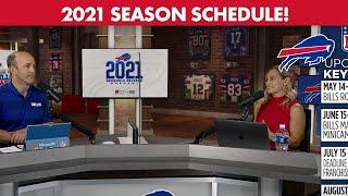 Instant Reaction: Bills 2021 Schedule Release | Buffalo Bills