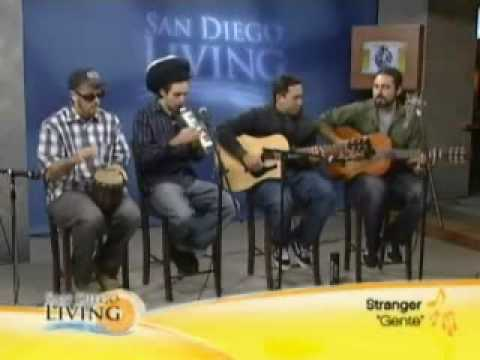 Stranger: Gente (Acoustic) on San Diego CW6