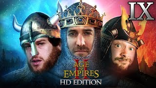 Age Of Empires 2 HD Edition 2v1 #09 | Florentin & Donnie vs. Marco