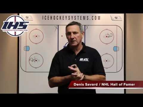 7 pass 2 on 1 Hockey Drill by Denis Savard