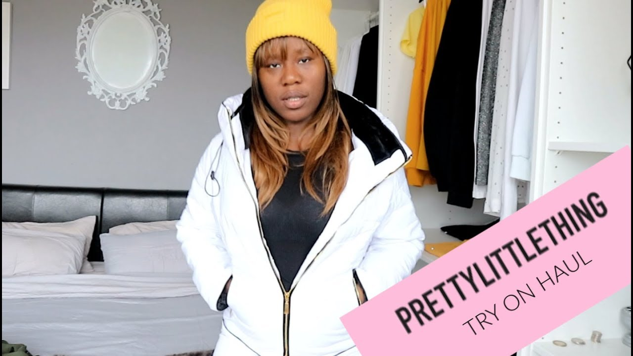 [VIDEO] - AUTUMN ? WINTER ❄️ PRETTYLITTLETHING JACKET // COAT TRY ON  HAUL 9