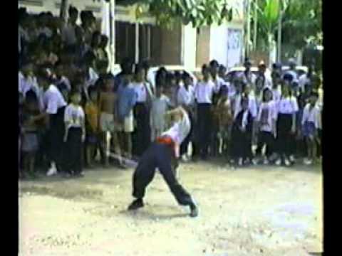 回忆1995年柬华 华义堂醒狮团 (2)
