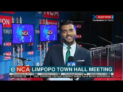Limpopo town hall meeting