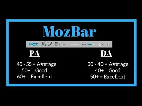 MozBar Tool -  SEO for Beginner 2018   MozBar Bangla Tuitorial