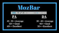 MozBar Tool -  SEO for Beginner 2018 | MozBar Bangla Tuitorial