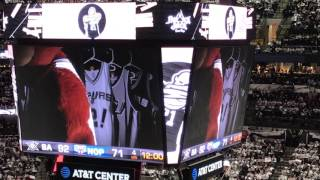 San Antonio Spurs Coyote tribute to Tim Duncan