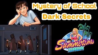 Mystery of School | Dark Secrets | Summertime Saga | StarSip Gamer |