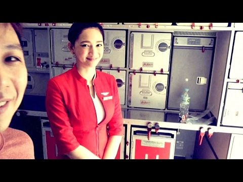 Air Asia A320 Throwback Vid to Cebu