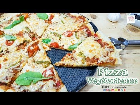 Pizza Végétarienne (aux légumes)