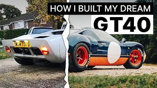 How I built a GT40 repĮica in my garage   PH Readers' Cars
