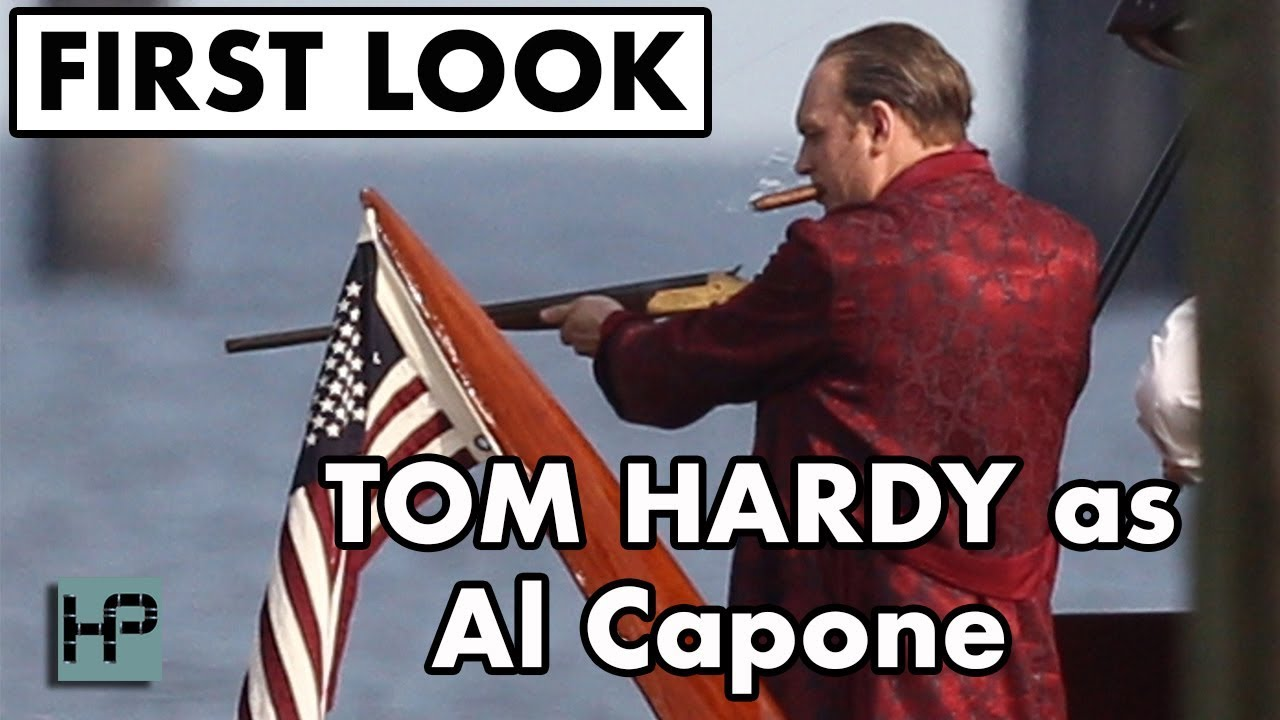 """Download BTS: Tom Hardy on Set as Al Capone for """"Fonzo"""" II Behind The Scenes FIRST LOOK"""