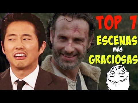 THE WALKING DEAD | TOP 7 Escenas más Graciosas