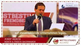12. MITTELSTANDS-ALLIANZ-Unternehmerstatement: Steuerzahlende Unternehmen