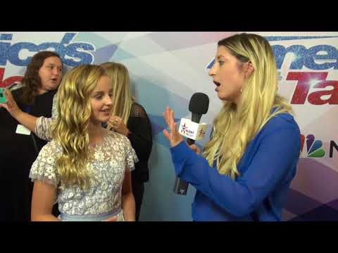 Evie Clair Talks Returning For AGT Finale After Dad Passing | America's Got Talent 2017