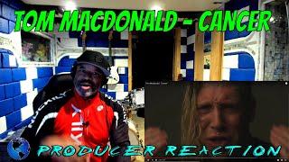 "Tom MacDonald   TRUE FACTS ""Cancer"" - Producer Reaction"