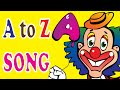 Alphabet Clown Teach Letters - A to Z Song Lesson for Kids leaning | ABCD Song | Alphabet Song