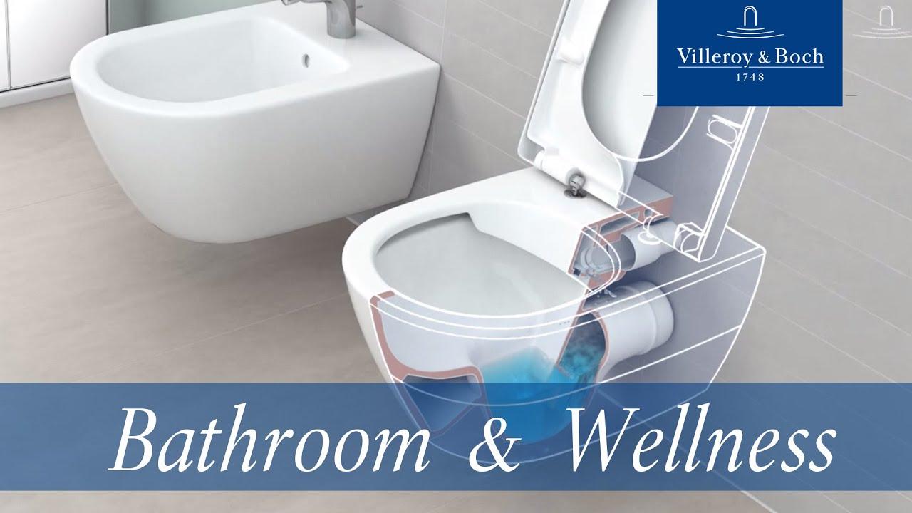 directflush rimless toilet villeroy boch youtube. Black Bedroom Furniture Sets. Home Design Ideas