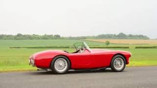 1958 AC Ace Bristol for auction at the Silverstone Classic