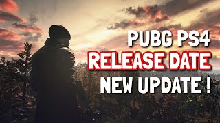 PUBG PS4 RELEASE DATE Saga *BIG* update !