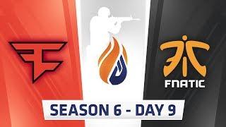 ECS Season 6 Day 9 Faze vs Fnatic - Mirage