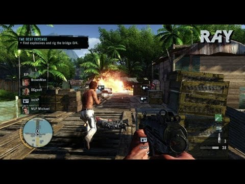 Far Cry 3 - E3 2012 Step into insanity trailer [UK] from YouTube · High Definition · Duration:  1 minutes 42 seconds  · 186,000+ views · uploaded on 6/4/2012 · uploaded by Ubisoft