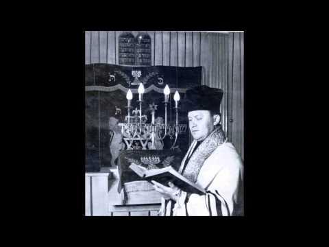 Cantor Avraham Adler Ato Yotzarto