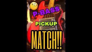 P Bass Comparative Pickup, STOCK vs LOLLAR