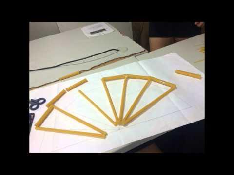 how to build a spaghetti bridge