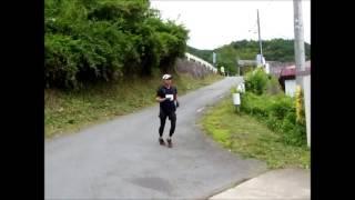 スパトレイル四万から草津 6月28日に 群馬県 高原をマラソン.