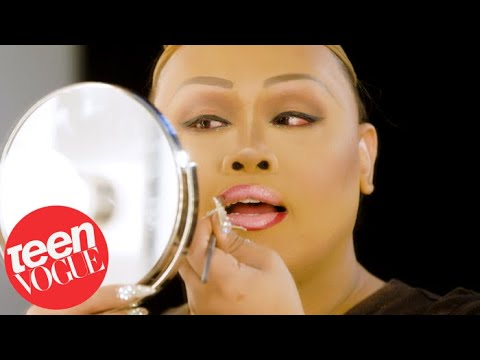Rupaul's Drag Race Star Jiggly Caliente's Drag Beauty Routine | Teen Vogue