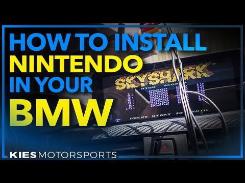 How to install Nintendo in your BMW (Using a BimmerTech Multimedia Interface)