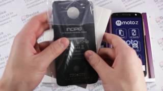 Распаковка Moto Z 64GB Dual SIM - Black & Rose Gold [XT1650-05]