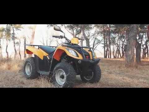 Обзор квадроцикла Kymco MXU 150