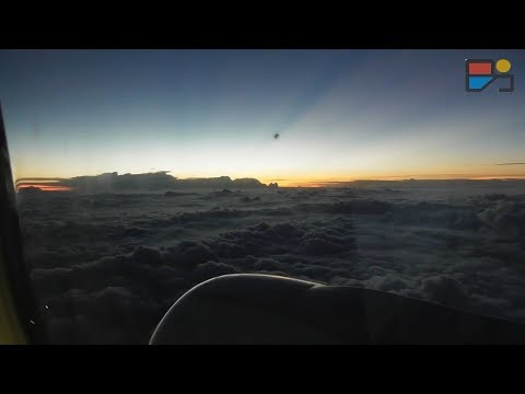 Menembus Mendung Tebal - NAM Air Palembang-Jakarta - TRAINVELING #15