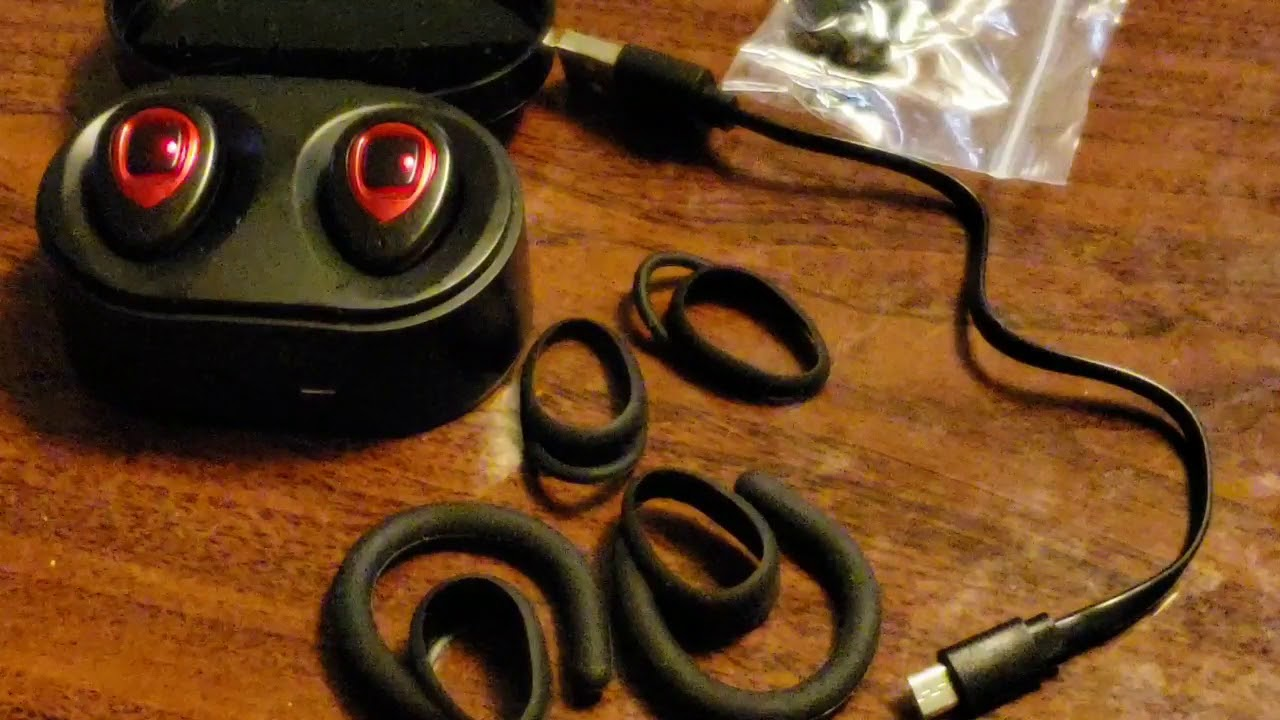 2e563dae341 XIAOWU Wireless Earbuds setup (K5) - YouTube