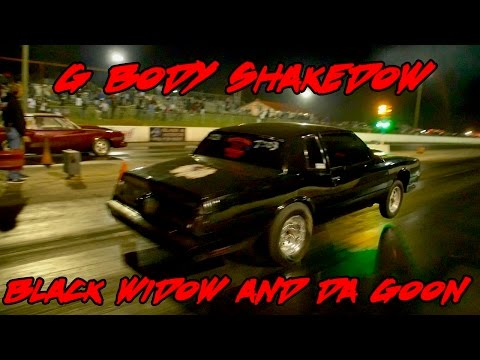 BAD MONTE CARLO'S SHAKEDOWN! BLACK WIDOW SMALL BLOCK SS AND DA GOON SMALL BLOCK 355 SHAKEDOWN!!!