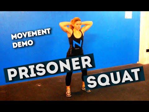 Movement Demo // Prisoner Squat