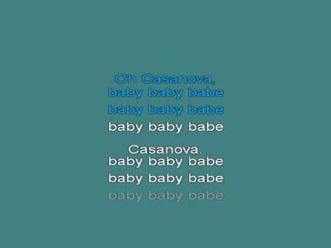 Casanova [karaoke]