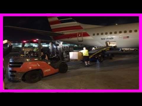 Breaking News   Aa cargo jumps into action to mitigate post-hurricane humanitarian disaster