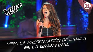 The Voice Chile | Camila Gallardo - Somewhere only we know