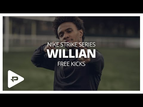 Chelsea's Willian Shows You How To Take A Free Kick