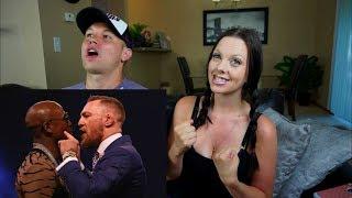 Mayweather vs McGregor: London Press Conference TRASH TALK
