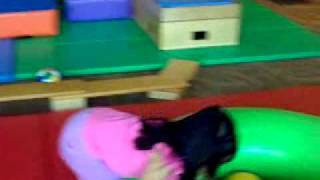 Hannah Faith - playgym at gymboree singapore