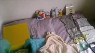 Наполнение коробочки для новорожденных ALL YOU NEED от Newborn Baby Box