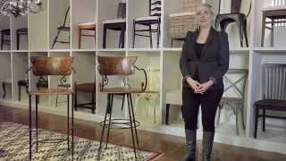 Arhaus Furniture - Cafe Bar Stools