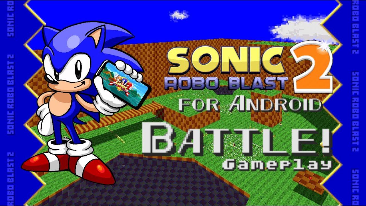 Sonic Robo Blast 2 v2.2.4 for Android - Battle v6 Gameplay
