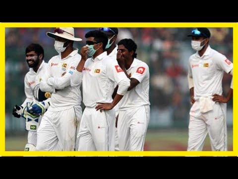 Why health advisories not being taken seriously? cpcb fumes over india-sri lanka test series in del