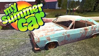 CAUSING HORRIBLE CRASHES By Towing Junk Cars, Sofa Located - My Summer Car Gameplay Highlights Ep 19